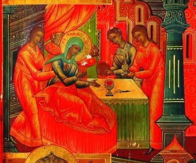 «Рождество пресвятой Богородицы с клеймами».