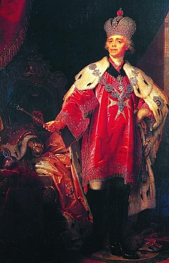 Гроссмейстер Мальтийского Ордена — император Павел I