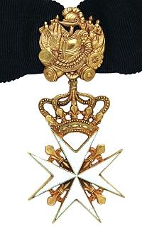 Образец Командорского креста.