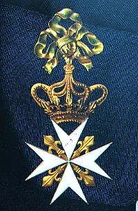 Мальтийский крест II степени для женшин, принадлежавший Внликой княгине Елизавете Алексеевне.