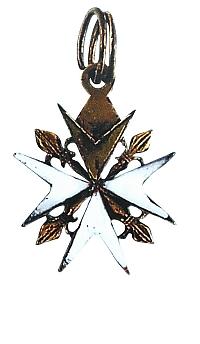 Образец доната для лиц не имеющих права на кавалерство Мальтийского Ордена.