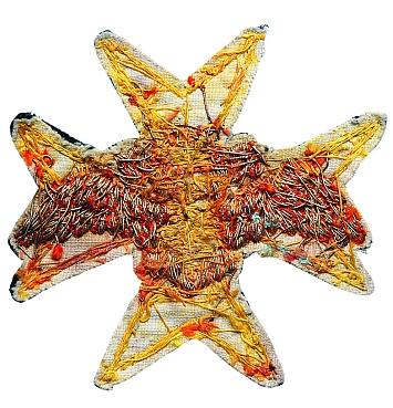 Звезда Мальтийского Ордена Великого Приорства Российского (православного) периода царствования императора Павла I, изготовленная в 1798 — 1801 годах