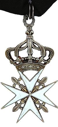 Кавалерийский Мальтийский орден Великого Приорства Российского (православного) периода царствования императора Павла I, изготовленный в 1798 — 1801 годах